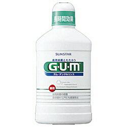 【クリックでお店のこの商品のページへ】GUM デンタルリンス<医薬部外品> レギュラータイプ 500ml