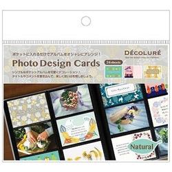 DECOLURE フォトデザインカード ナチュラル PTCL05