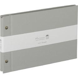 ハルマー 外ビス式 A5サイズ AHRA5101N グレー