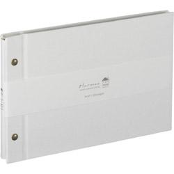 ハルマー 外ビス式 A5サイズ AHRA5101W ホワイト