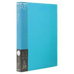 バインダー式ポケットアルバム「フォトファイル」(L判3段/ブルー) アS-MY-141-B