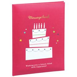 メッセージブック A4サイズ(レッド) MBA4-101-R