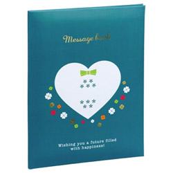 メッセージブック B6サイズ ブルー MBB6-301-B