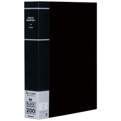 ポケットアルバム フォトグラフィリア 2L判2段200枚収納 (ブラック) PH2L-1020-D