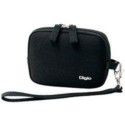 Digio2 デジタルカメラケース(ブラック) DCC-058BK