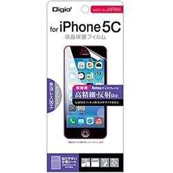 iPhone 5c用 液晶保護フィルム 高精細・反射防止 IPN-C13FLH