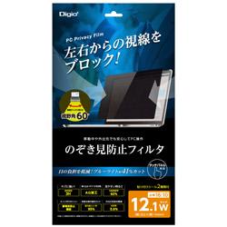 Nakabayashi PC用のぞき見防止フィルタ 12.1W SFFLGPV121W
