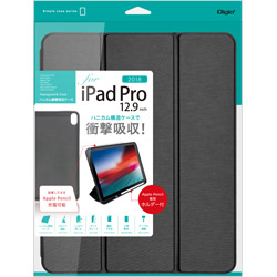 iPadPro12.9inch(2018)用 ハニカム衝撃吸収ケース ブラック TBCIPP1814BK