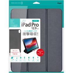 iPadPro12.9inch(2018)用 ハニカム衝撃吸収ケース ネイビー TBCIPP1814NB