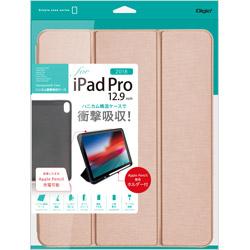 iPadPro12.9inch(2018)用 ハニカム衝撃吸収ケース ピンク TBCIPP1814P