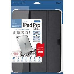 iPadPro12.9inch(2018)用衝撃吸収ケース ブラック TBCIPP1812BK