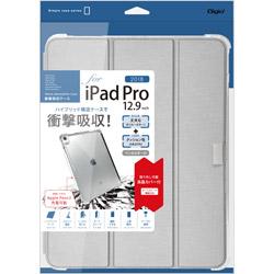 iPadPro12.9inch(2018)用衝撃吸収ケース シルバー TBCIPP1812SL