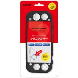 Nintendo Switch Lite用シリコンカバーケース ブラック [SZCSWL03BK] 【Switch Lite】