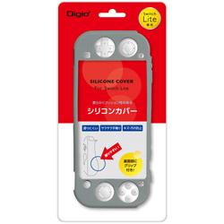 Nintendo Switch Lite用シリコンカバーケース グレー [SZCSWL03GY] 【Switch Lite】