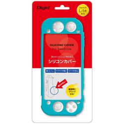 Nintendo Switch Lite用シリコンカバーケース ターコイズ [SZCSWL03TQ] 【Switch Lite】