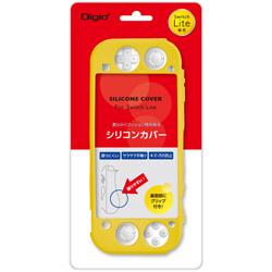 Nintendo Switch Lite用シリコンカバーケース イエロー [SZCSWL03Y] 【Switch Lite】