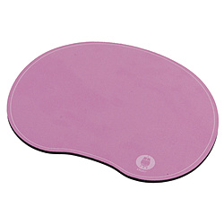 MUP-918P マウスパッド[180x140x3mm] 豆型 ピンク MUP918P ピンク