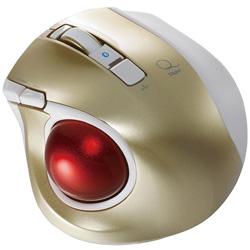 小型/ 人差し指/5ボタン/ ELECOM M-MT2BRSBK 【送料無料】 ブラック 【在庫目安:お取り寄せ】 Bluetooth/ 静音/ トラックボールマウス/