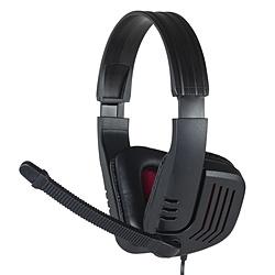 4極ヘッドセット PS4用 ブラックレッド MHMSGM30BKR MHMSGM30BKR ブラックレッド