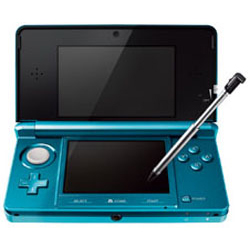 [Used] Nintendo 3DS (Aqua Blue)