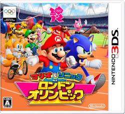 マリオ&ソニック AT ロンドンオリンピック【3DS】   [ニンテンドー3DS]
