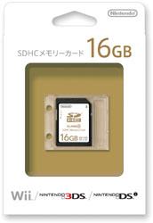 【純正】SDHCメモリーカード 16GB【Wii】