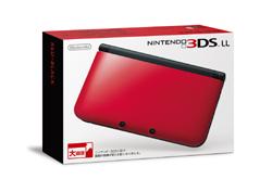 [使用]任天堂3DS LL体(红×黑)
