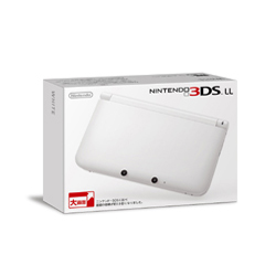 [Used] Nintendo 3DS LL body White