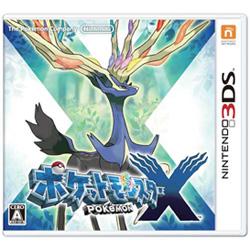 〔中古〕 ポケットモンスター X【3DS】