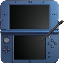 [Used] New Nintendo 3DS LL body metallic blue