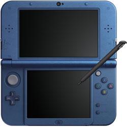 [使用]新的任天堂3DS LL身體金屬藍