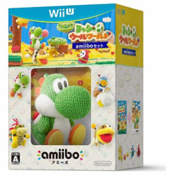 〔中古品〕ヨッシー ウールワールド amiiboセット【Wii U】
