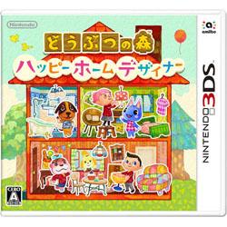〔中古品(難あり)〕どうぶつの森 ハッピーホームデザイナー【3DSゲームソフト】   [ニンテンドー3DS]