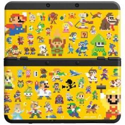 [Used] New Nintendo 3DS body Kisekae plate pack Super Mario manufacturers design