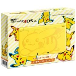 [Used] New Nintendo 3DS LL Pikachu [yellow]
