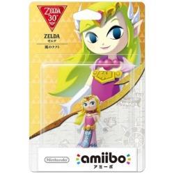 【在庫限り】 amiibo ゼルダ 【風のタクト】 (ゼルダの伝説シリーズ) 【Wii U/New3DS/New3DS LL】 [NVL-C-AKAJ]
