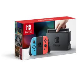 [Used] Nintendo Switch (Nintendo switch) body Joy-Con (L) neon blue / (R) neon red