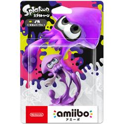 【在庫限り】 amiibo イカ【ネオンパープル】(スプラトゥーンシリーズ)【Switch/Wii U/New3DS/New3DS LL】 [NVL-C-AEAL]