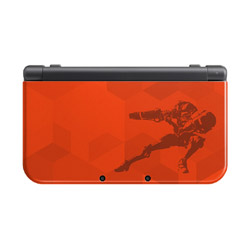 [Used] New Nintendo 3DS LL body Samus edition Nintendo store limited
