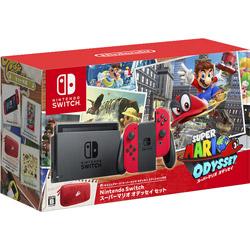 〔中古〕 Nintendo Switch(ニンテンドースイッチ)本体 スーパーマリオ オデッセイセット