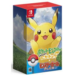 任天堂 ポケットモンスター Let's Go! ピカチュウ モンスターボール Plusセット 【Switchゲームソフト】