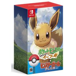 ポケットモンスター Let's Go! イーブイ モンスターボール Plusセット 【Switchゲームソフト】