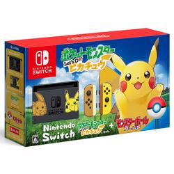 〔中古〕 Nintendo Switch(ニンテンドースイッチ)本体 ポケットモンスター Lets Go! ピカチュウセット(モンスターボール Plus付き)