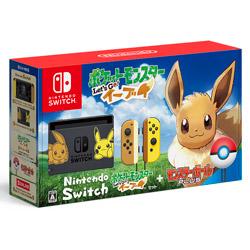 〔中古〕 Nintendo Switch(ニンテンドースイッチ)本体 ポケットモンスター Lets Go! イーブイセット(モンスターボール Plus付き)