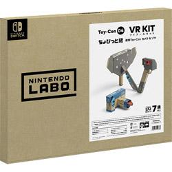 任天堂 【04/12発売予定】 Nintendo Labo Toy-Con 04: VR Kit ちょびっと版追加Toy-Con カメラ&ゾウ [HAC-A-LP04B]