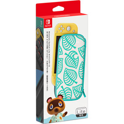 Nintendo(任天堂) Nintendo Switch Liteキャリングケース あつまれ どうぶつの森エディション 〜たぬきアロハ柄〜(画面保護シート付き) HDH-A-PSSAE