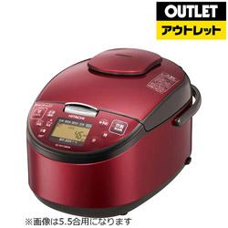 日立 炊飯器 1升 9,980円 RZ-RV18BKM-R レッド 送料無料 【ソフマップ】
