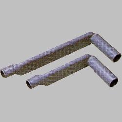 HO-P5(ゴムアシつき) 真下排水キット(直下排水L型パイプ)