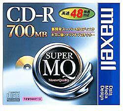 48倍速対応 データ用CD-Rメディア (700MB・1枚) CDR700S.1P
