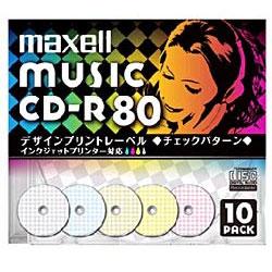 CDRA80PMIX. S1P10S (音楽用CD-R/74分/5枚/インクジェットプリンタ対応/カラーミックス)